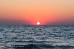 Wschód słońca, Ptasi Raj - Wyspa Sobieszewska