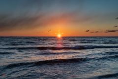 Cypel Rewski, wschód słońca
