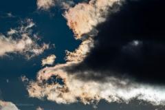 Popołudniowe niebo na Wyspie Sobieszewskiej