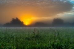 Nadwiślański wschód słońca