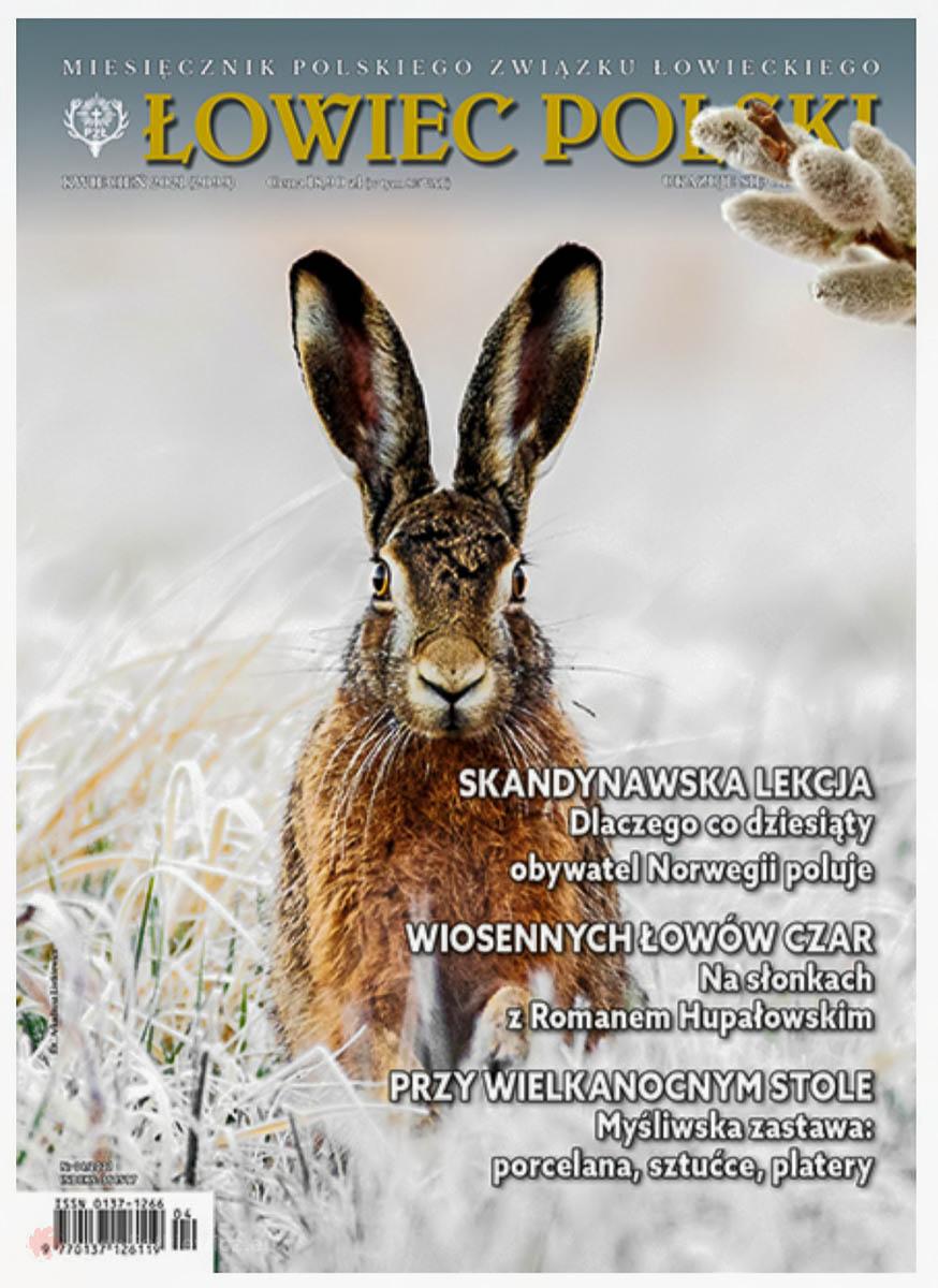 Okładka magazynu Łowiec Polski