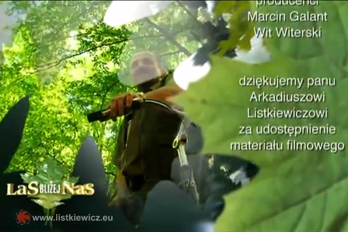 """Emisja fragmentów autorskiego filmiku w programie, """"Las bliżej nas"""", 03.06.2012r."""